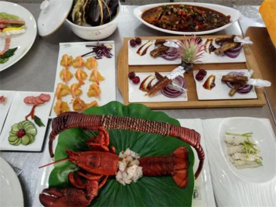 蓝翔烹饪学生的烹调技艺