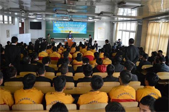 蓝翔汽车工程学院首届辩论赛集锦